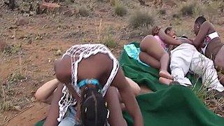 Africké teenagerov porno